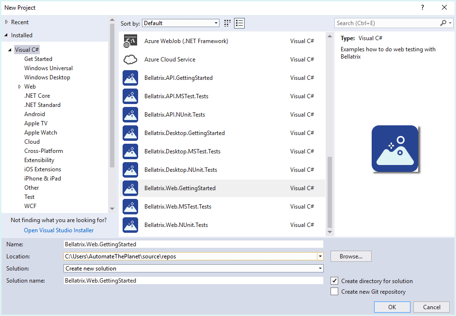 Ready-To-Go Project Templates